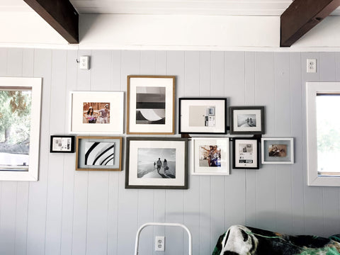 Focal point wall