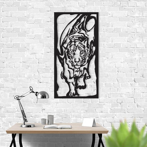 metal wall art lion