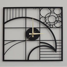 Load image into Gallery viewer, Bird Metal Wall Clock