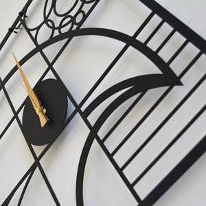 Bird Metal Wall Clock