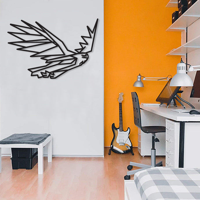 Black Eagle Metal Wall Art & Decor