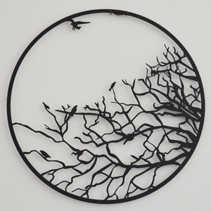 Branches of The Tree Metal Wall Decor
