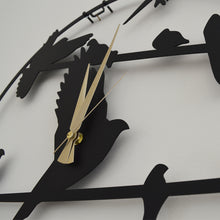 Load image into Gallery viewer, Doves Metal Wall Clock