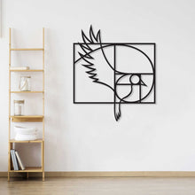 Load image into Gallery viewer, Golden Ratio Bird Metal Wall Art & Decor
