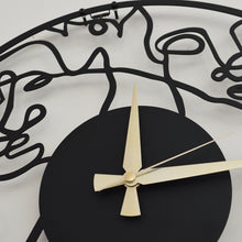 Load image into Gallery viewer, Picasso Metal Wall Clock