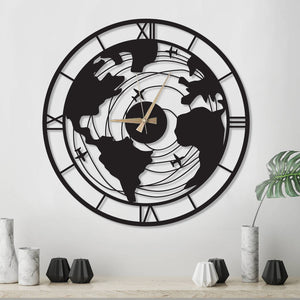 Plane World Clock