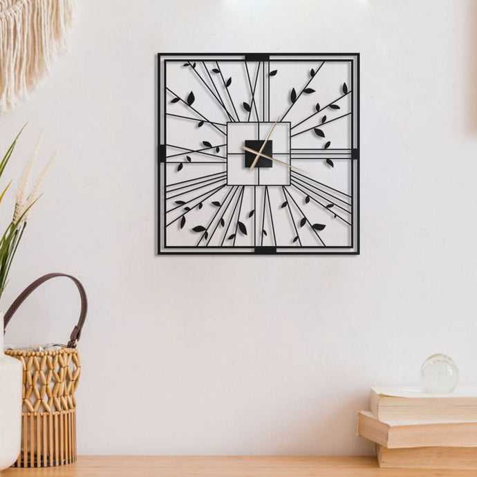 Quen Clock Metal Wall Clock