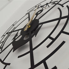 Load image into Gallery viewer, Sailor Clock Decorative Metal Wall Clock