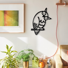 Load image into Gallery viewer, Wonderer Owl Decorative Metal Wall Art