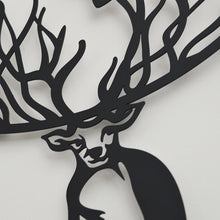 Load image into Gallery viewer, World Deer Decorative Metal Wall Art