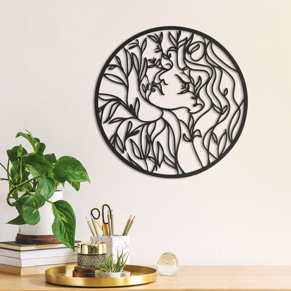 Ophelia Metal Wall Decor