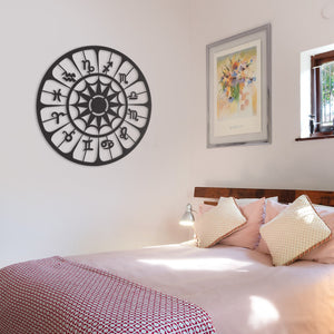 Horoscope Zodiac Metal Wall Art & Decor