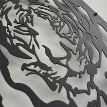 Load image into Gallery viewer, Power of Tiger Decorative Metal Wall Art