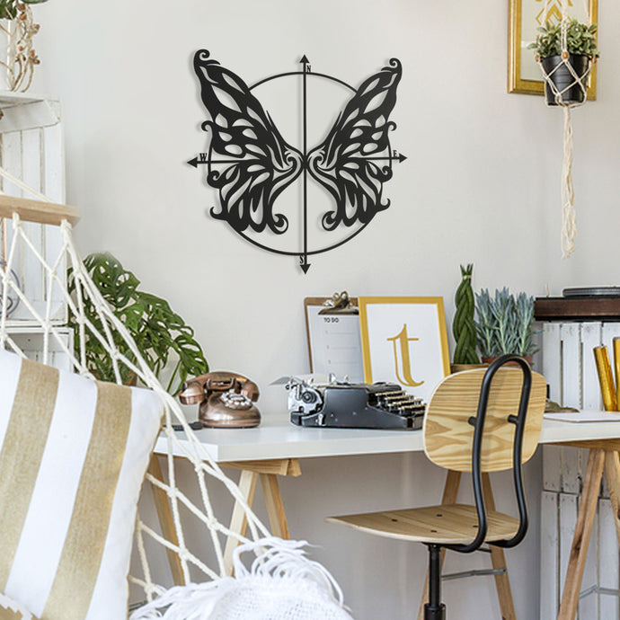 Butterfly Metal Wall Art Decoration