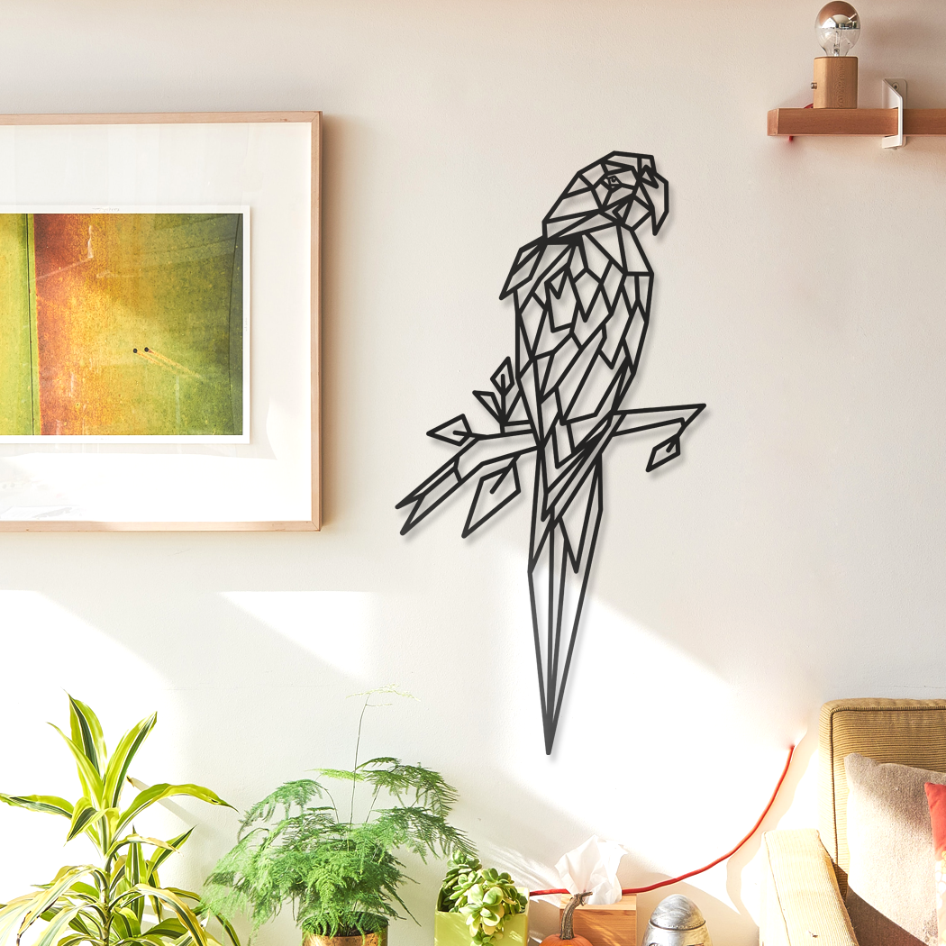 Parrot Metal Wall Art & Decor