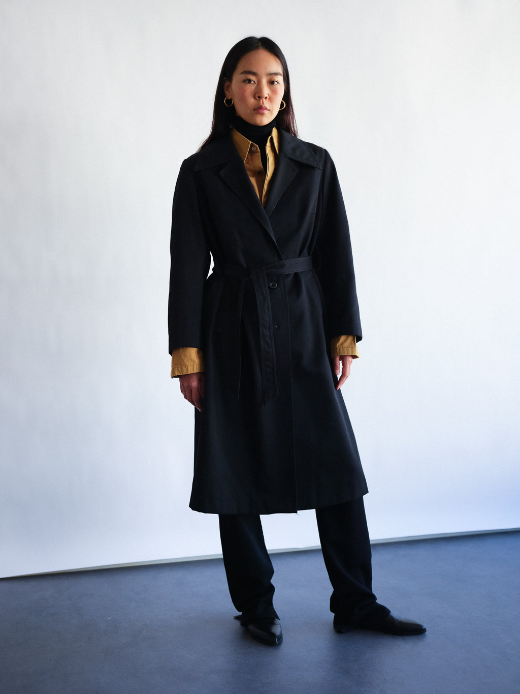 trench vintage preclothed