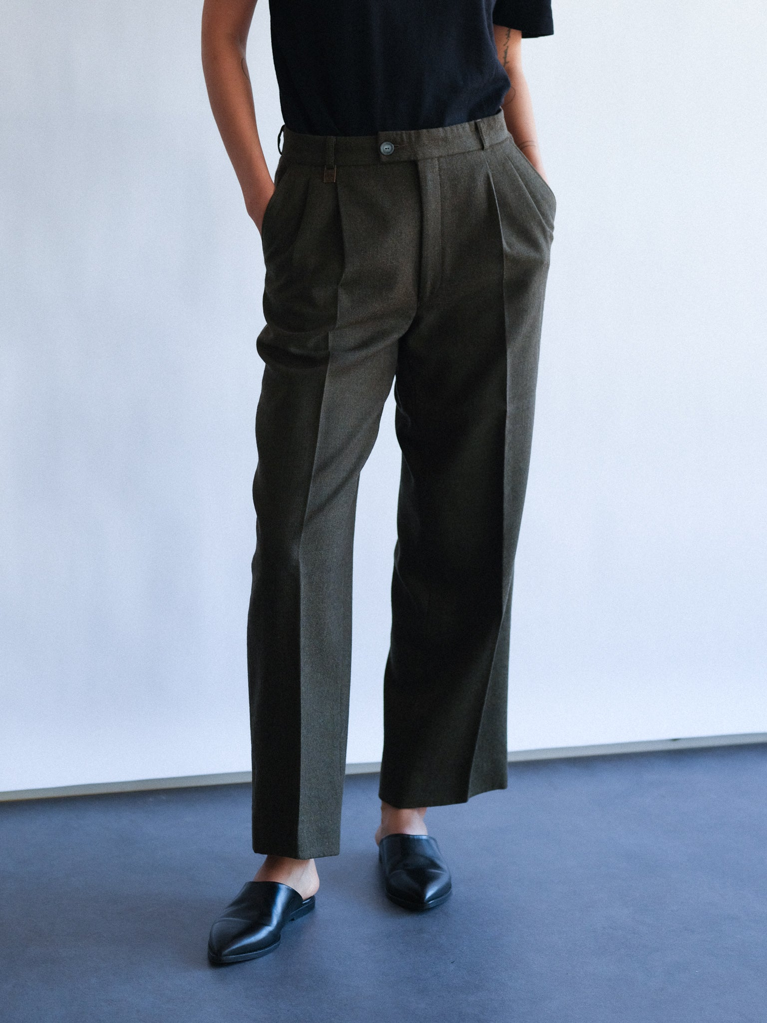 Cacharel wool trousers