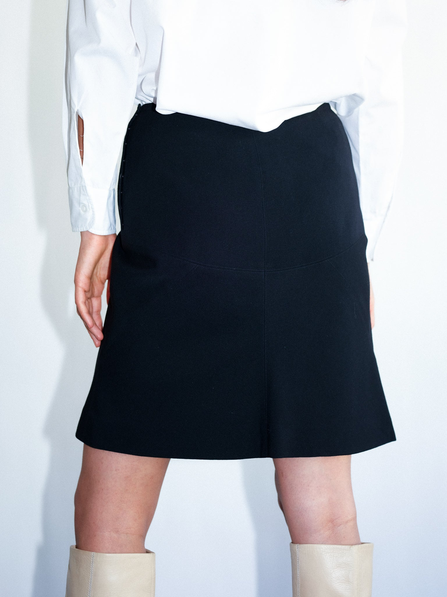Alaïa wool skirt