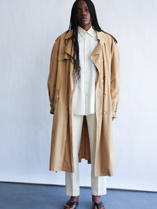 Trench oversize vintage