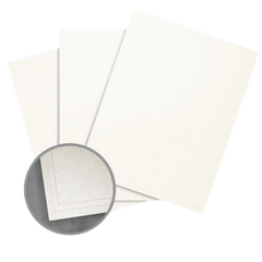 Recycled eco friendly sustainable paper - 100% recycled silver pearl pearlized shiny paper