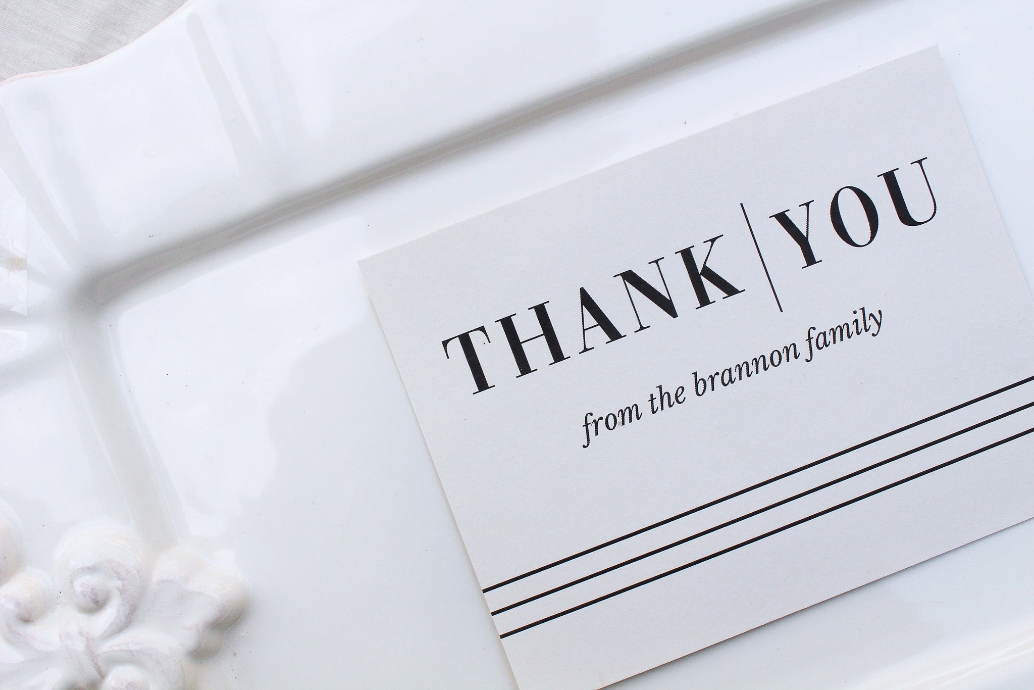 Bridgehampton Personalized Thank You Notes