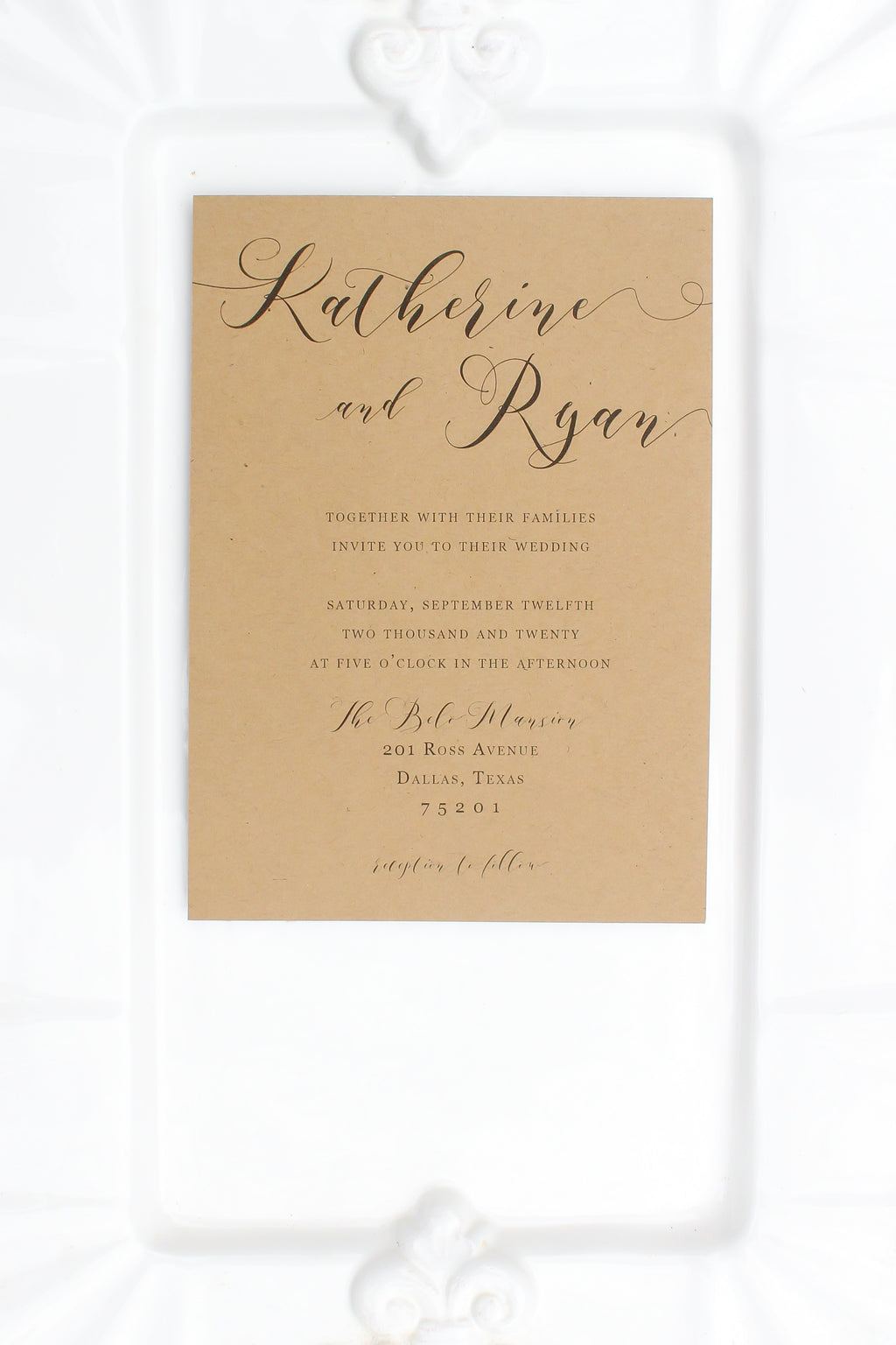 Highland Wedding Invitations