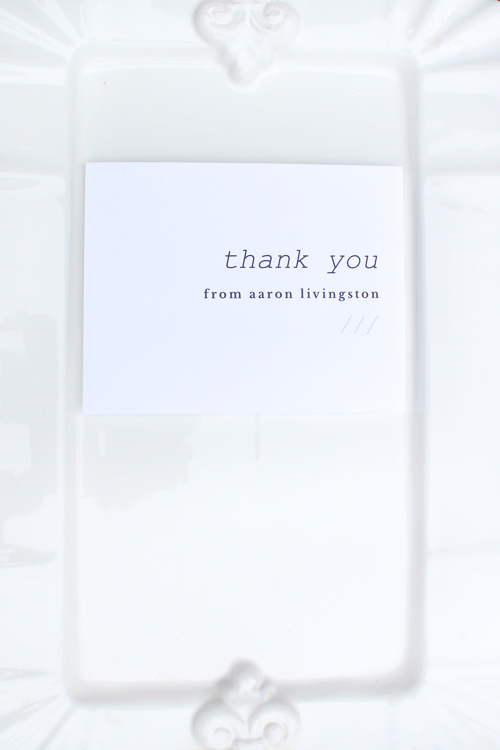 Malmö Personalized Thank You Notes