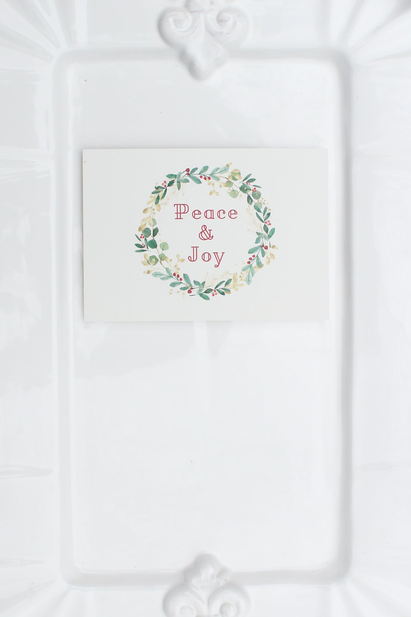 Christmas Peace & Joy Notecards