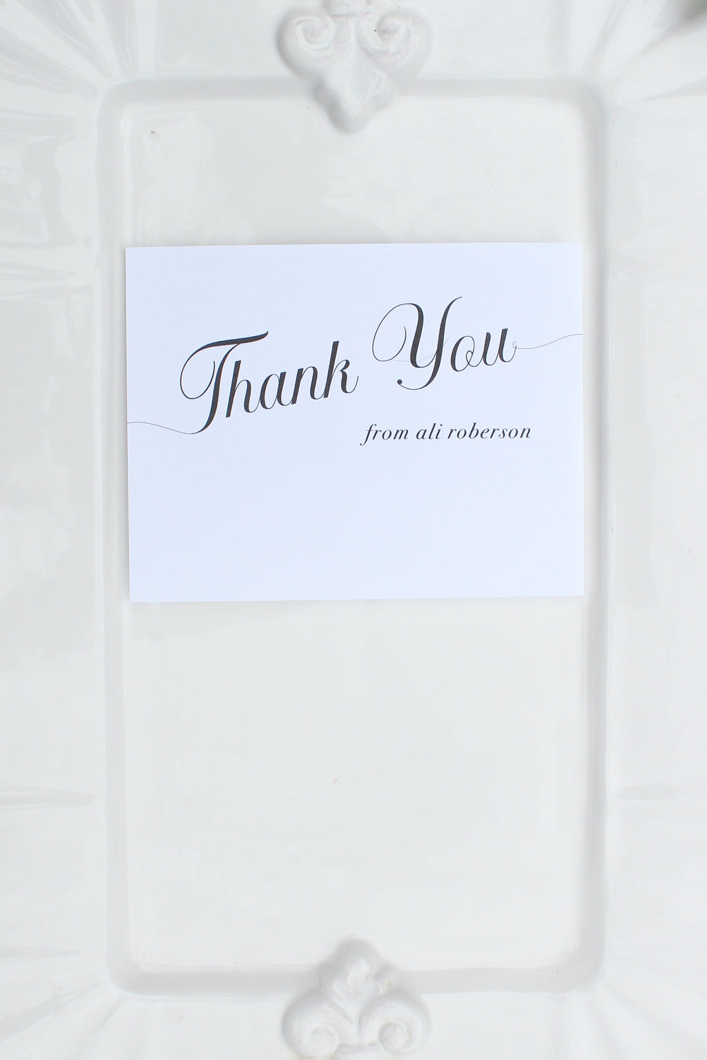Plano Personalized Thank You Notes