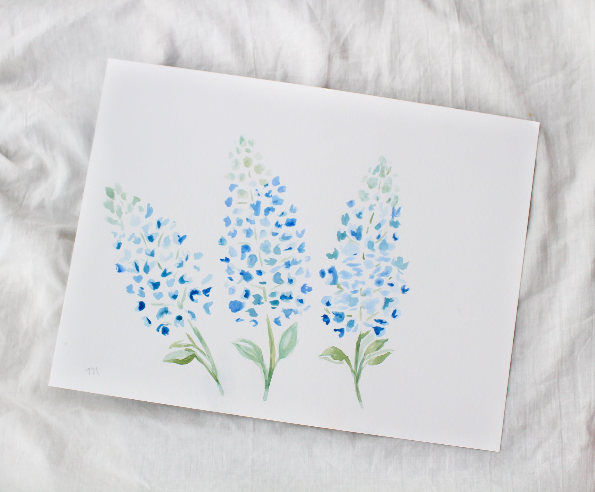 Bluebonnet Personalized Thank You Cards