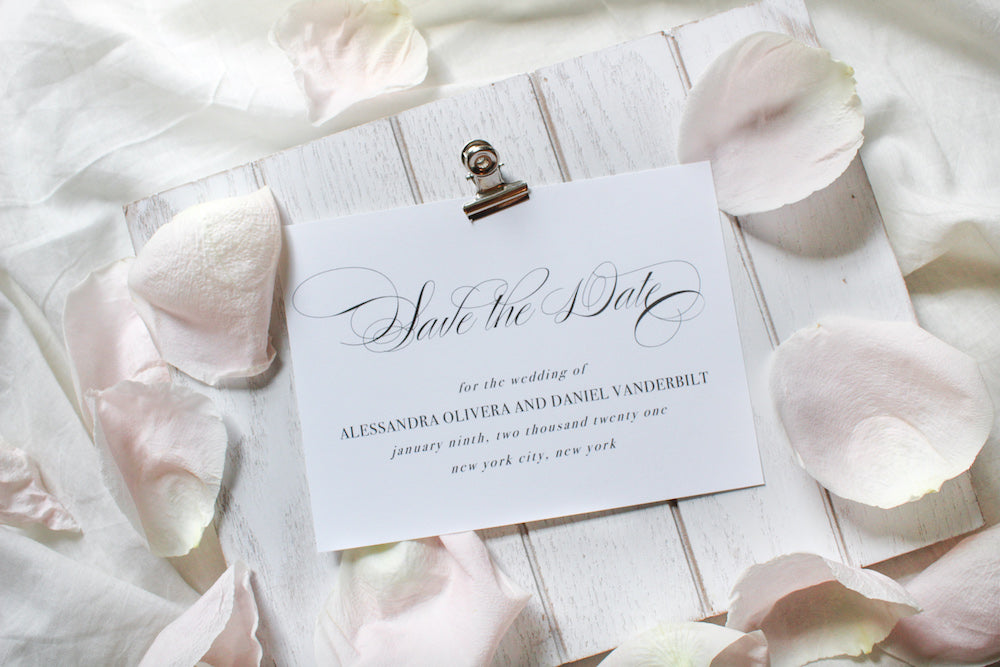 Valencia Save the Date Card