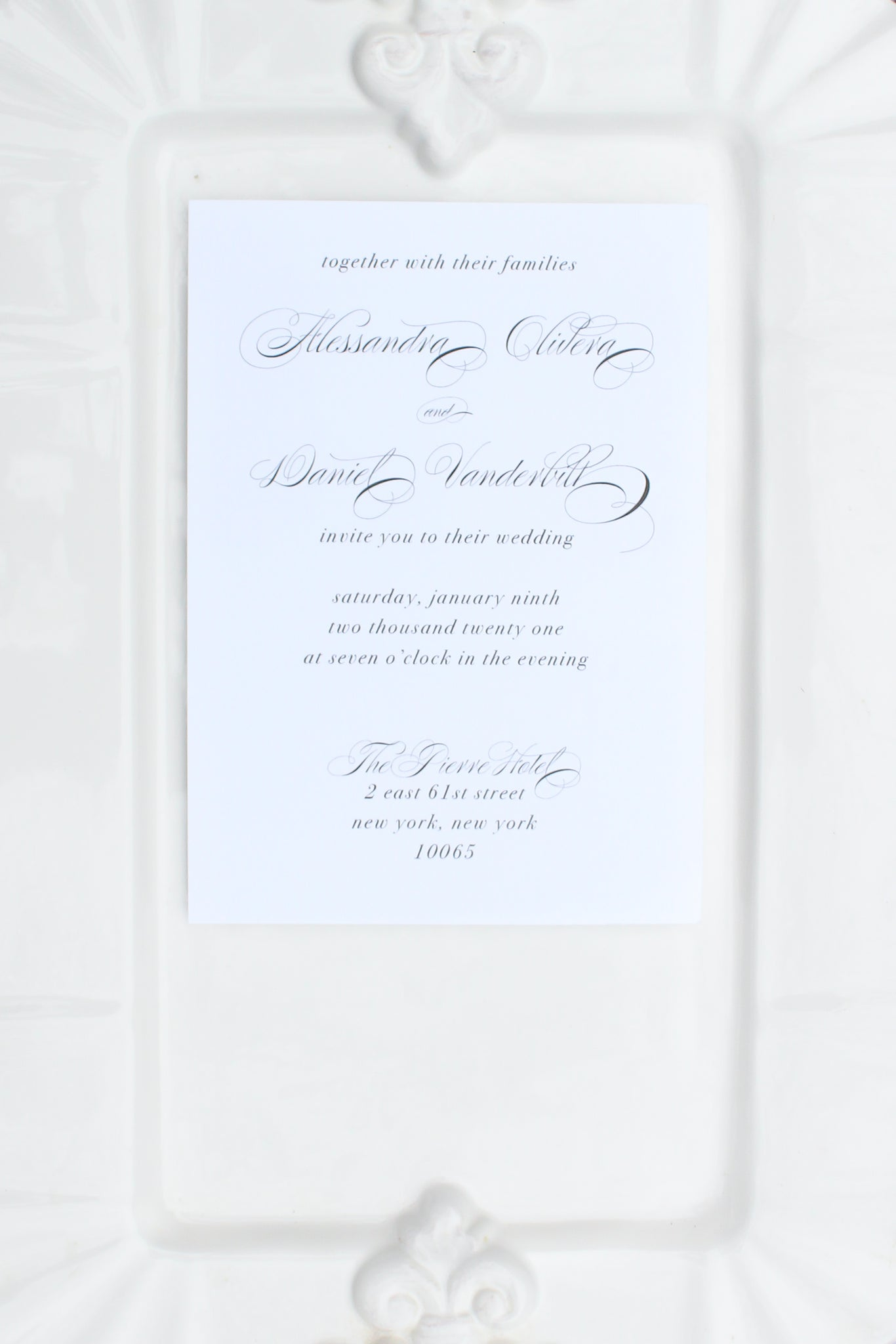 Valencia Wedding Invitations
