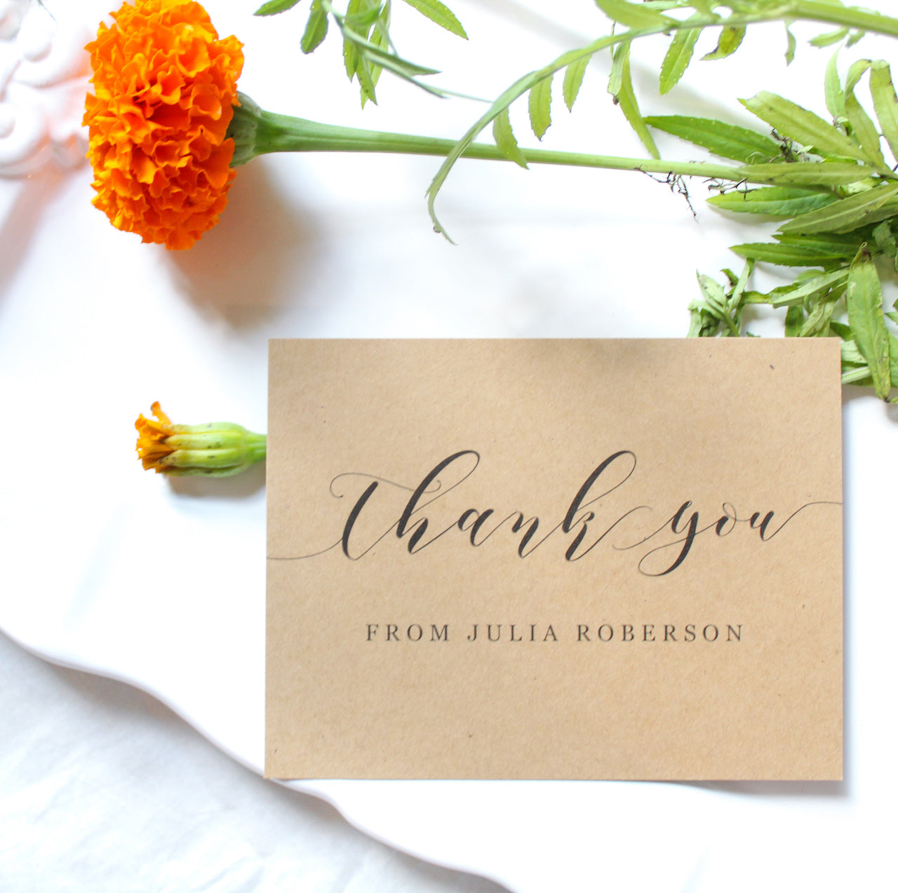 Highland Personalized Thank You Notes