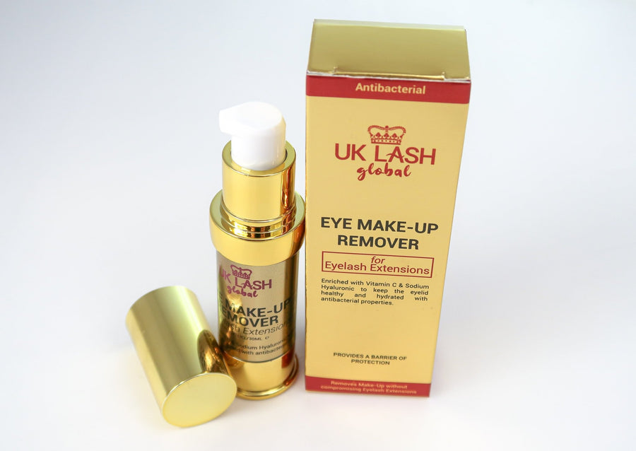 Antibacterial Make Up Remover for Lash Extensions - UK LASH GLOBAL