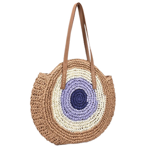 Bohemian Woven Straw Bag - ethnic-ville-shop