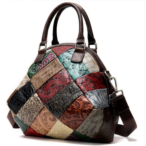 Vintage Genuine Leather Bag - ethnic-ville-shop