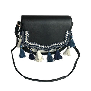Leather Ethnic Shoulder Bag - ethnic-ville-shop