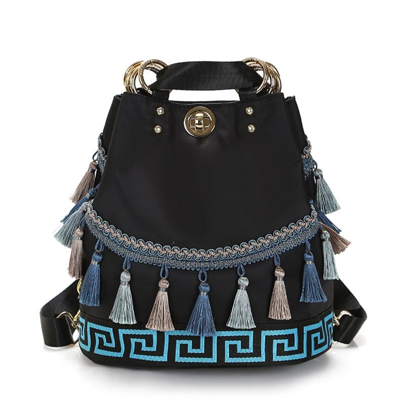 Ethnic Style Backpack - ethnic-ville-shop