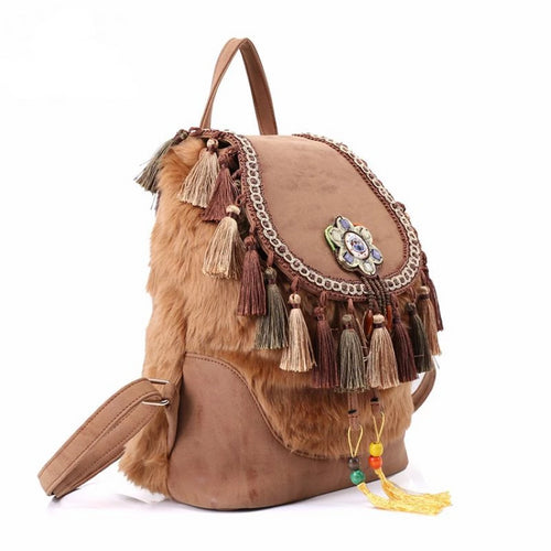 Bohemian Style Vintage Backpack - ethnic-ville-shop