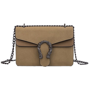Luxury Leather Shoulder Bag - ethnic-ville-shop