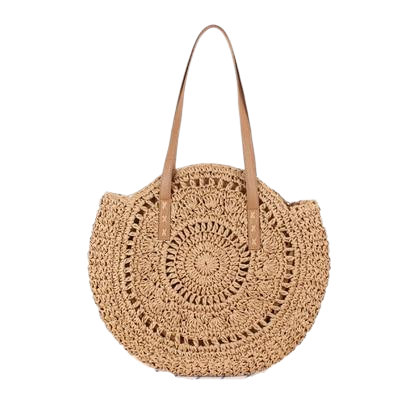 Rattan Bohemian Shoulder Bag - ethnic-ville-shop