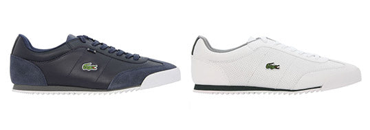 Lacoste Romeau new in both Blue and White