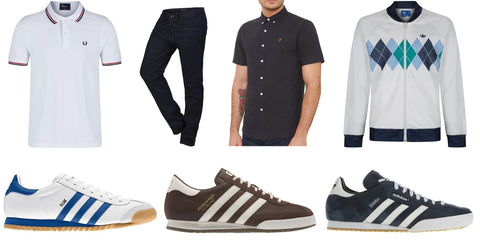 The perfect father's day guide - june 19th - adidas originals - fred perry - lacoste - EA7
