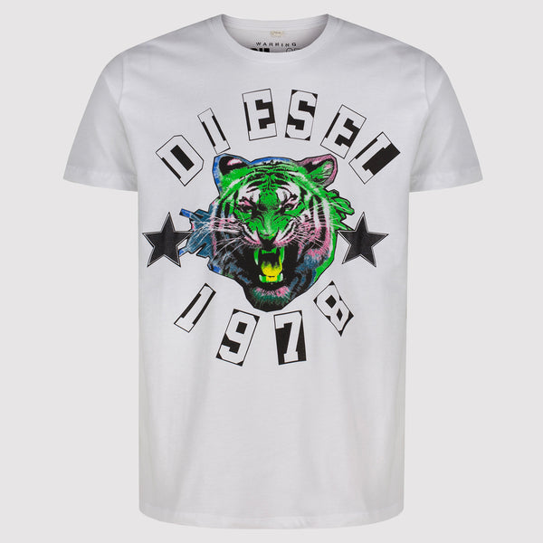 Diesel The King T-Shirt - White