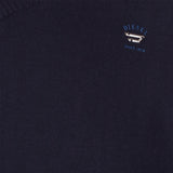 Diesel K Benti V Neck Jumper - Navy - detail