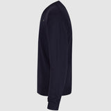 Diesel K Benti V Neck Jumper - Navy - side