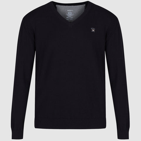 Diesel K Benti V Neck Jumper - Black