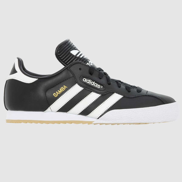 adidas Samba Super Trainer - Black White - Side