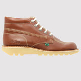 Kickers Kick Hi Classic Boot - Dark Tan - side