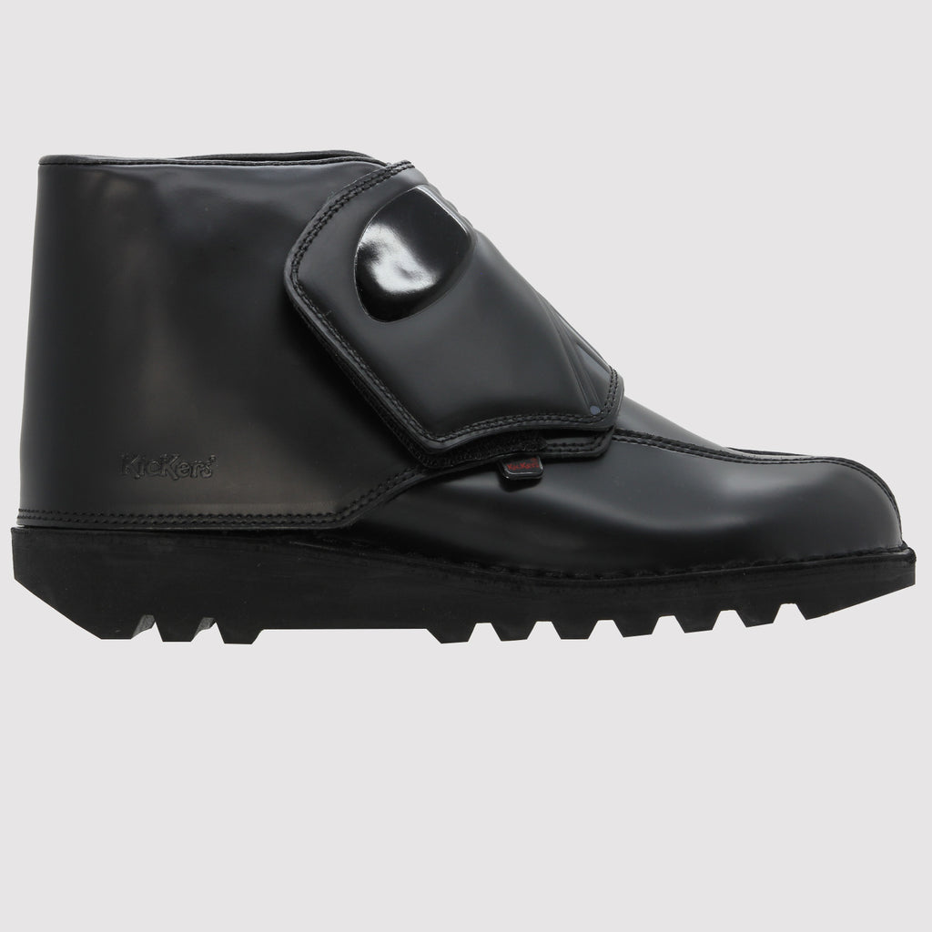 Kickers Darth Vader Boot - Side - Black